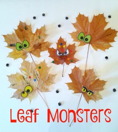 Autumn Leaf Monsters
