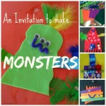 An Invitation to make…MONSTERS!