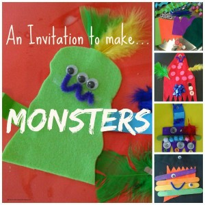 monster activities for kids