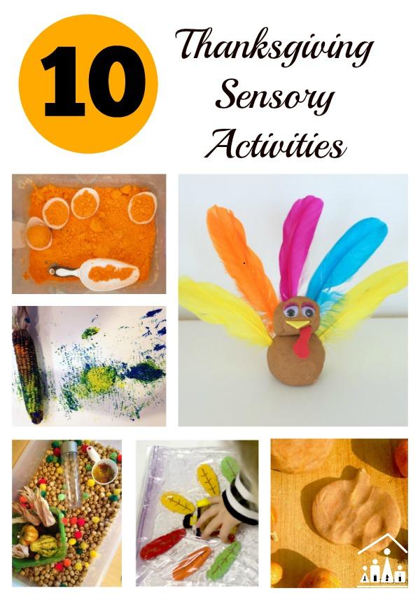 top 10 thanksgiving sensory activities