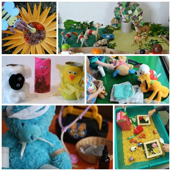 animals imaginative play