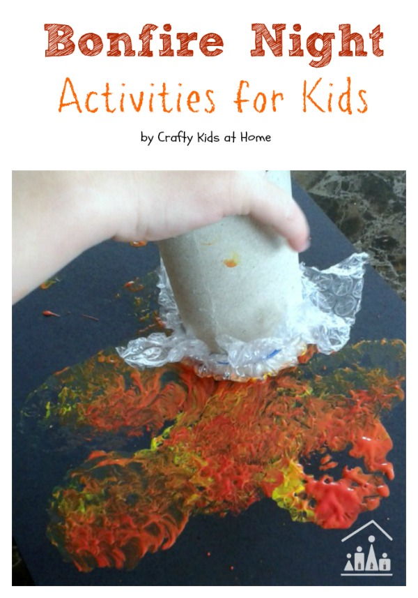bonfire night activities for kids