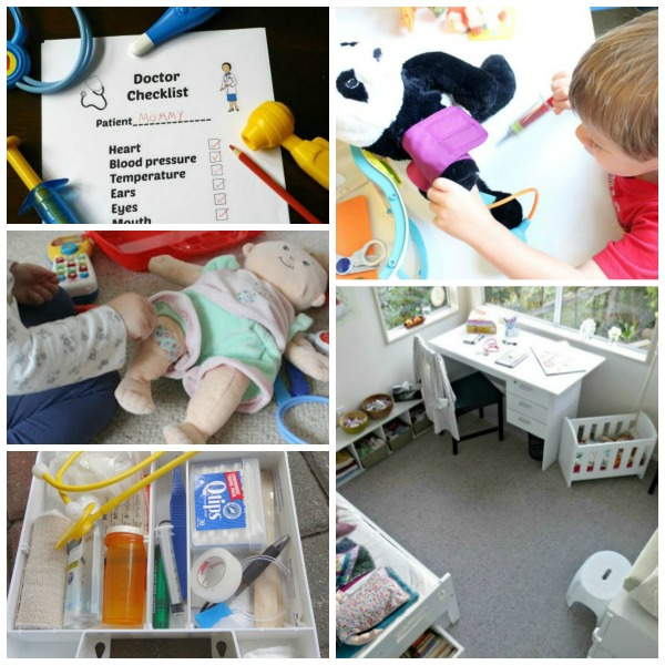 doctor and vet imaginative play