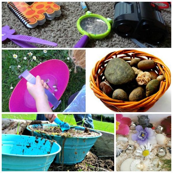 outdoor imaginative play