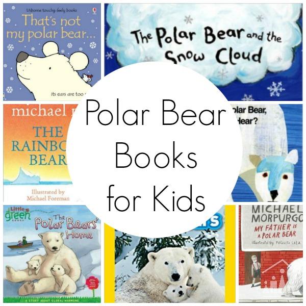 Polar Bear Kid Book