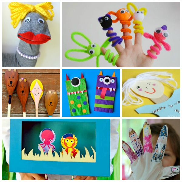 puppets for pretend play