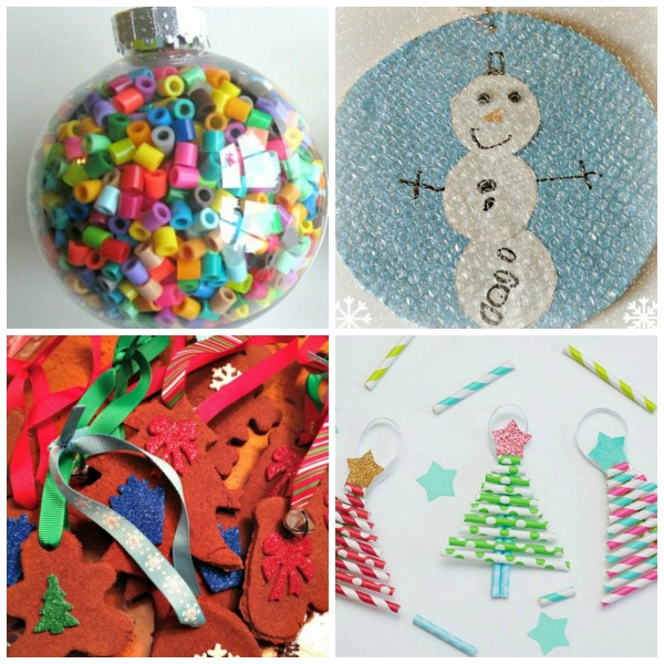 12 days of christmas tree decorations for kids to make