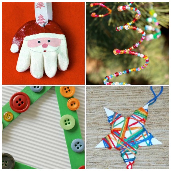 12 days of christmas tree decorations for kids to make - Christmas Tree Decorations For Kids