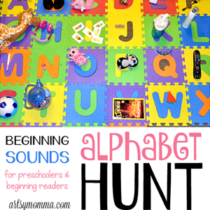 A-Z of Indoor Activities Alphabet-Hunt