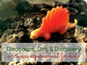 Indoor Activities Dinosaur Dirt Discovery Play