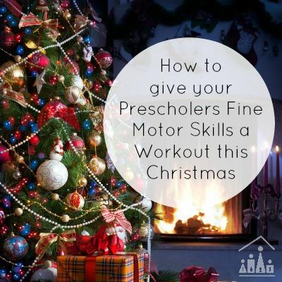 Christmas Fine Motor Skills Activities