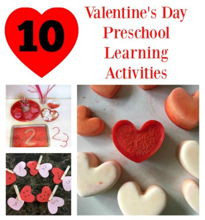 10 valentines day learning activities for preschoolers for Valentine day at home