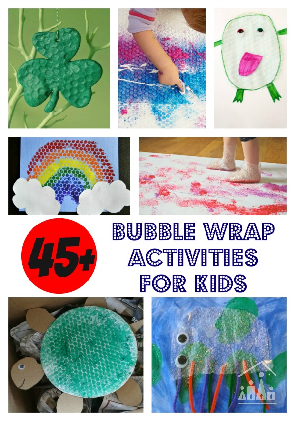 45 bubble wrap activities for kids