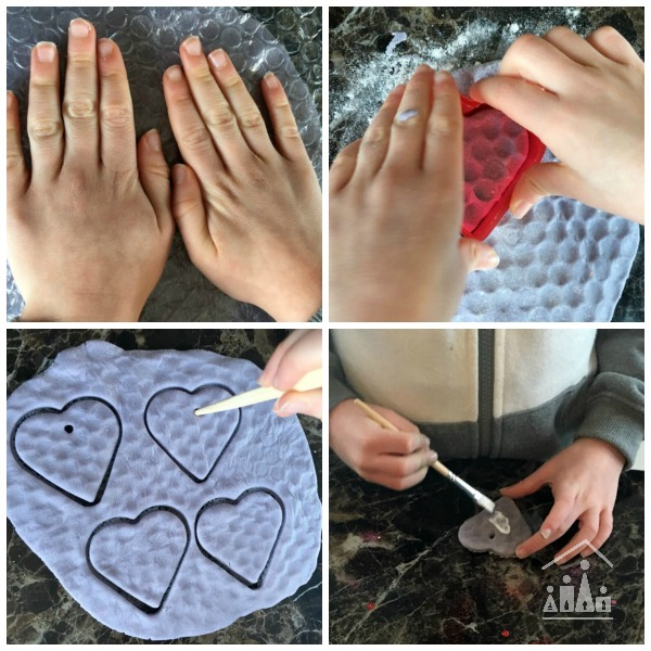 bubble wrap activities for kids valentines hearts