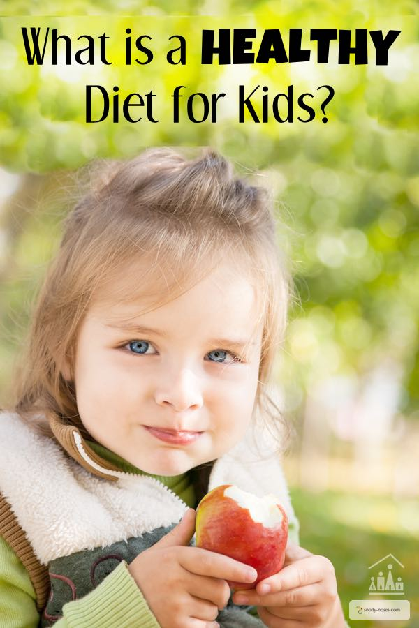 what is a healthy diet for kids