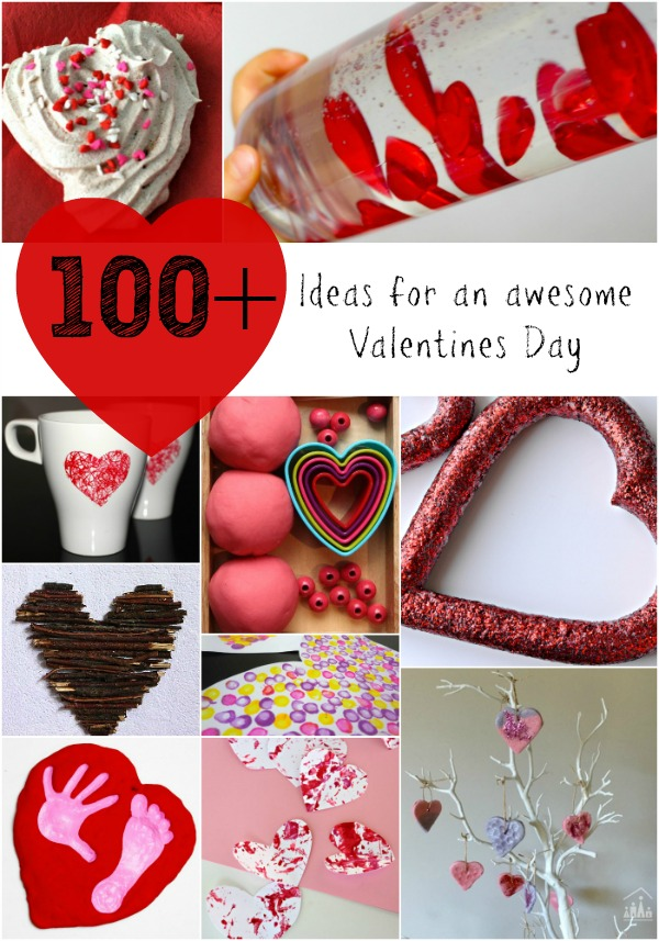 100 ideas for an awesome valentines day