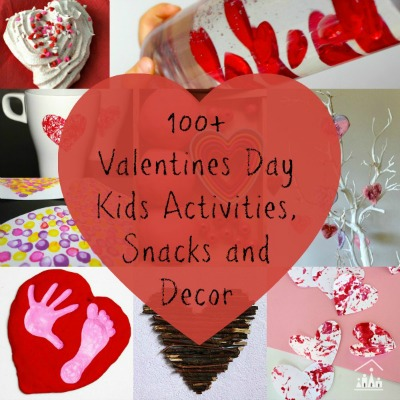 100 valentines day crafts d cor snacks and kids for Valentine day at home
