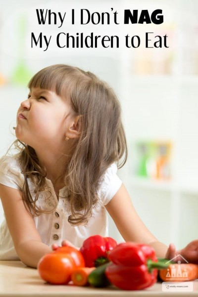 Healthy diet for kids - Why I don't nag my children to eat