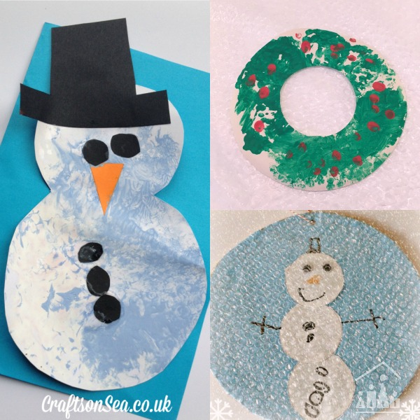 winter bubble wrap activities for kids