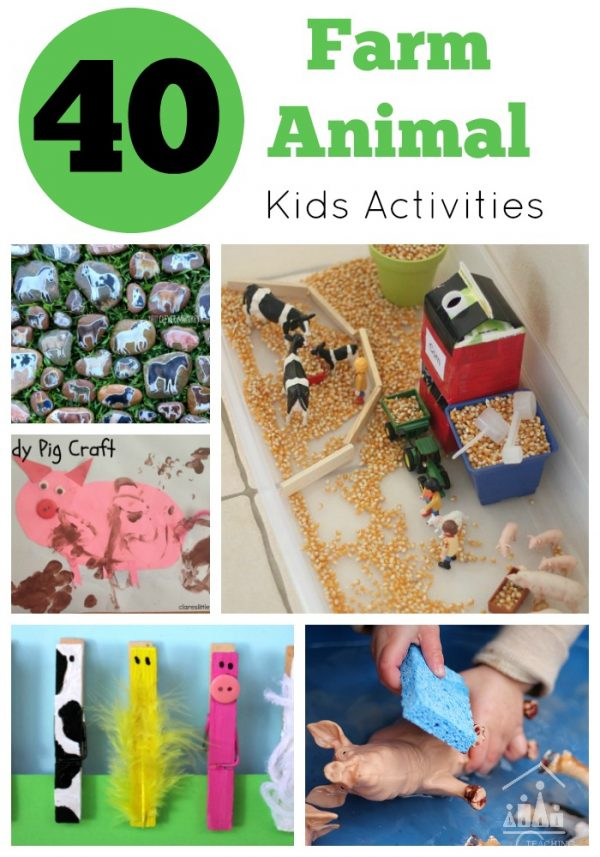 40 Farm Animal Activities for Kids