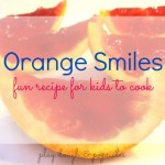 Cooking with Kids Orange Jello Smiles