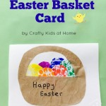 DIY Easter Cards from Recyclables