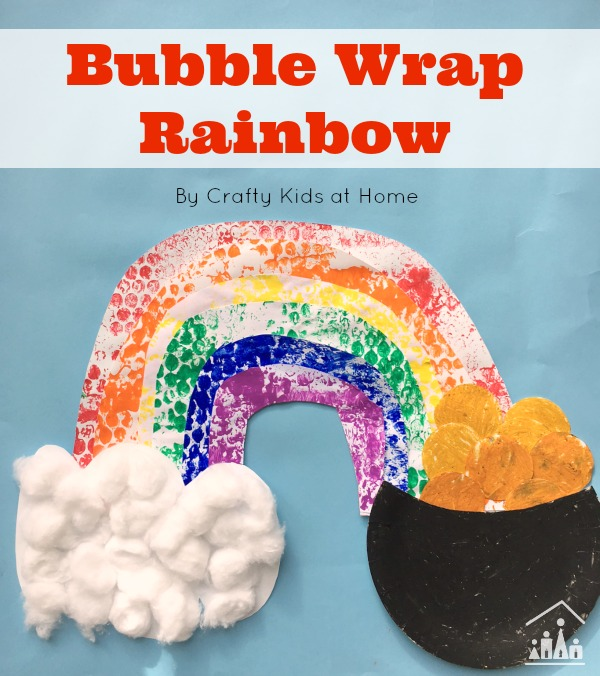 bubble wrap activity for kids roll a rainbow