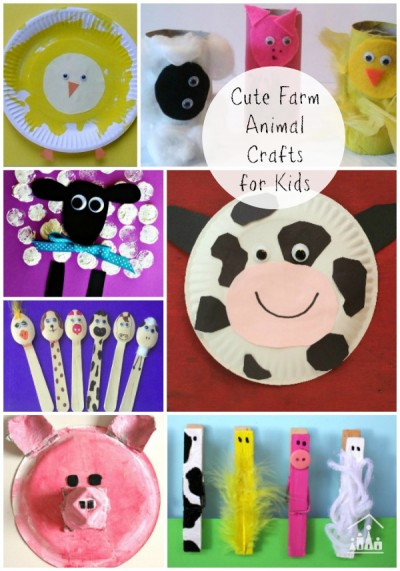 farm animal arts and crafts for kids & Nadia van Zyl Author at Crafty Kids at Home