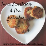 Cooking with Kids Tuna Pea Sweetcorn Fish Cakes