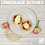 Cooking with Kids Lemonade Scones