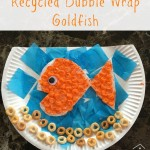 Recycled Bubble Wrap Goldfish