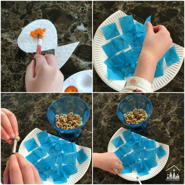 How to make a Bubble Wrap Goldfish