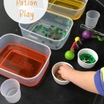 St Patrick's Day Preschool Potion Play