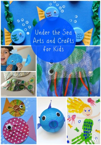 under the sea arts and crafts for kids