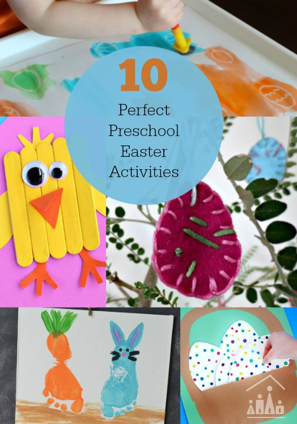 10 Preschool Easter Activities Crafty Kids At Home