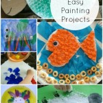 10 Easy Painting Projects for Siblings to do together