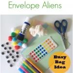 Googly Eye Envelope Aliens Busy Bag