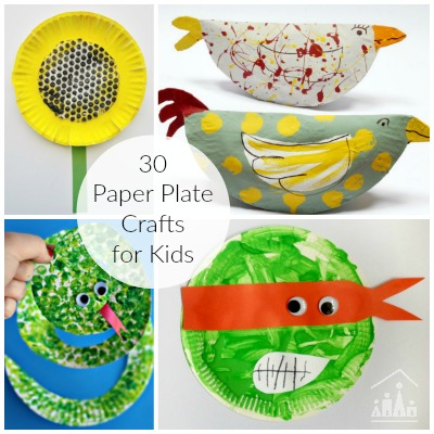 30 paper plate crafts for kids