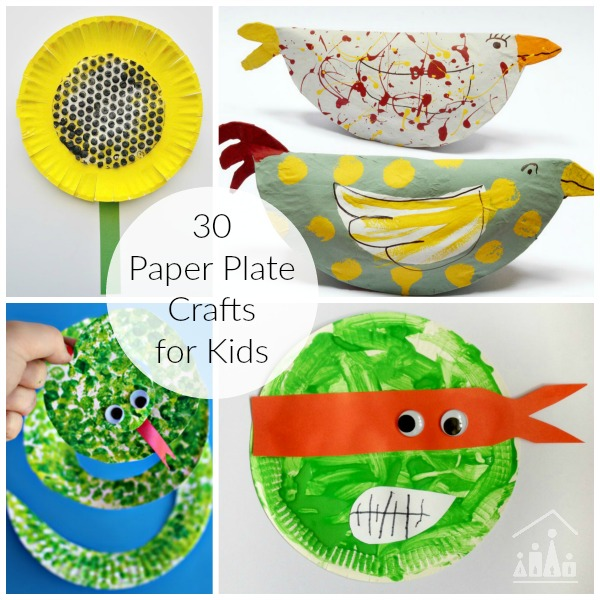 The gallery for --> Paper Plate Spring Crafts For Kids