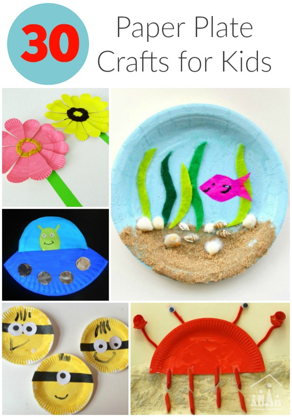 30 Awesome Paper Plate Crafts Crafty Kids At Home