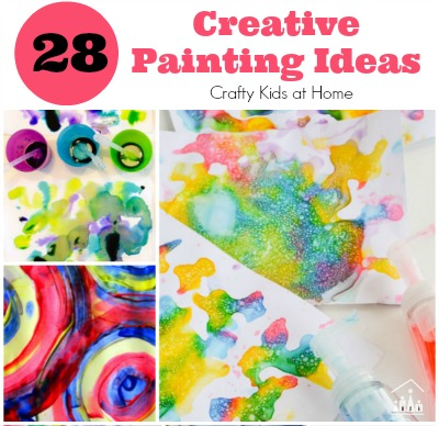 28 Creative Process Art Ideas for Kids
