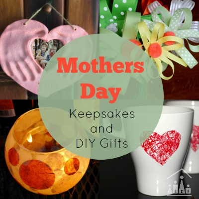 Mothers day keepsakes and gifts