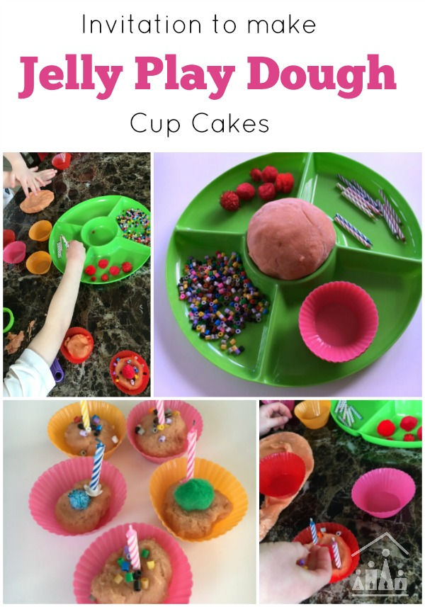 Play date activities Jelly Play dough