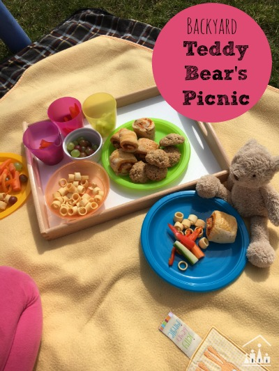 Back yard Teddy Bears Picnic