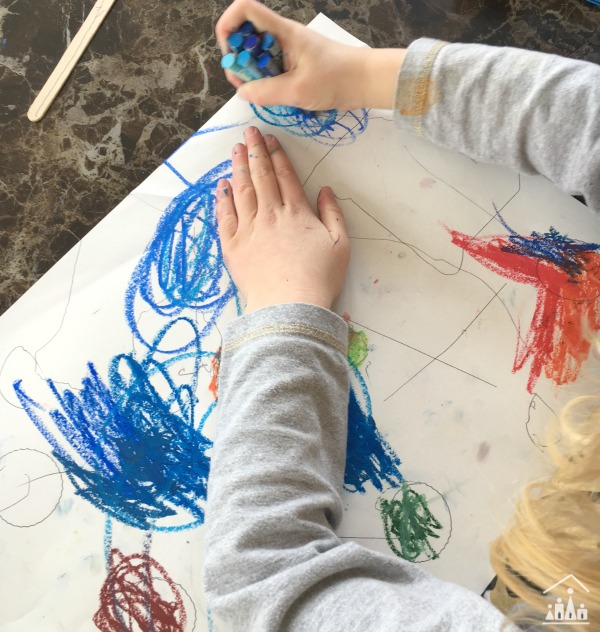 Exploring art with kids Kandinsky Lines and Circles