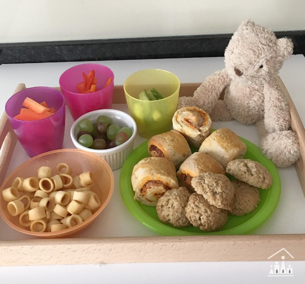 Backyard Teddy Bears Picnic Food