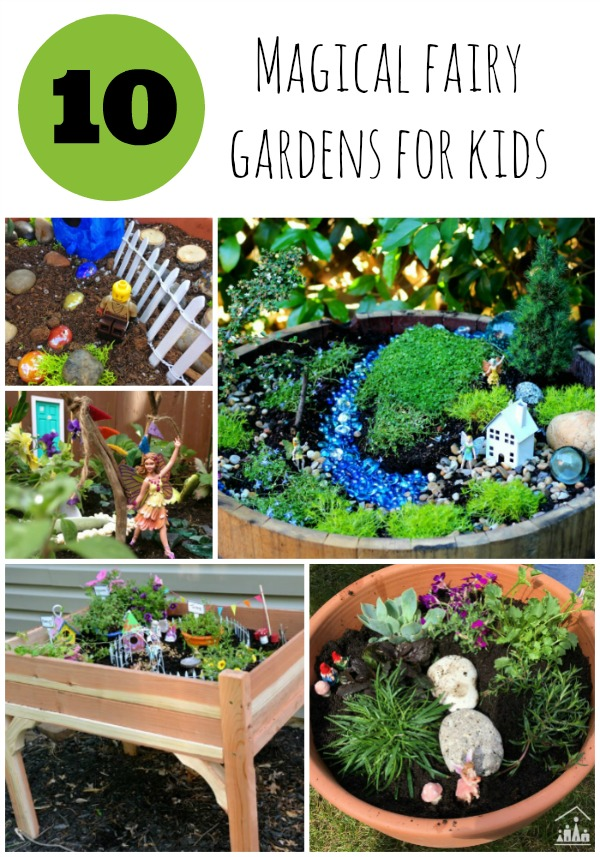 10 magical fairy gardens for kids crafty kids at home for Indoor gardening lesson