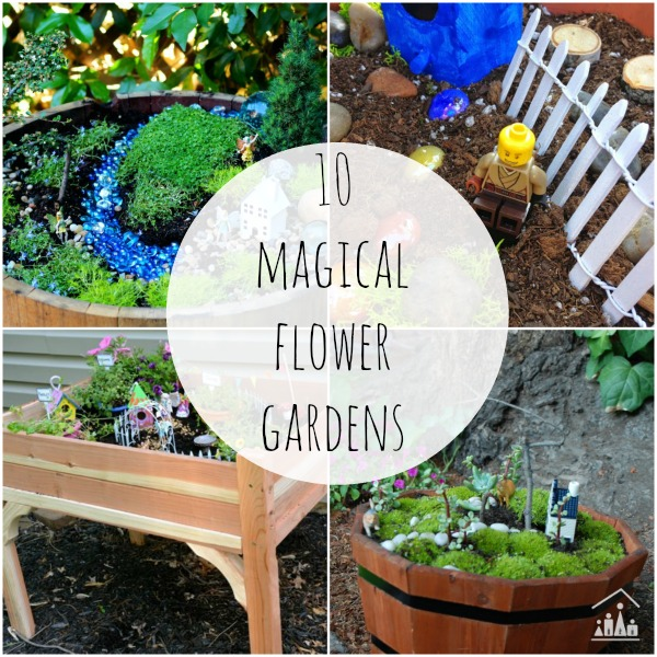 10 magical fairy gardens for kids