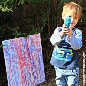 Outdoor Activities for Kids - A is for Art