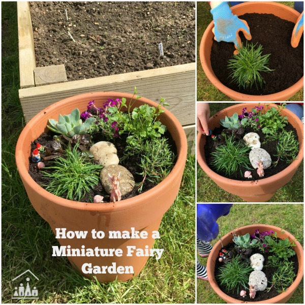 How to make a Miniature Fairy Garden Crafty Kids at Home